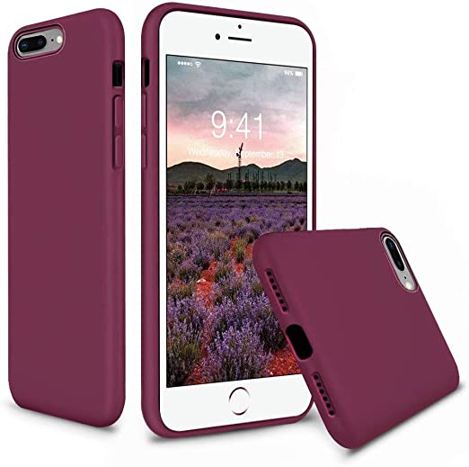 iPhone 8 LOYHU260041 L1 Lomogo iPhone 7 iPhone 8 Case Soft Silicone Case Shockproof Anti-Scratch Case Cover for Apple iPhone 7 4.7-inch