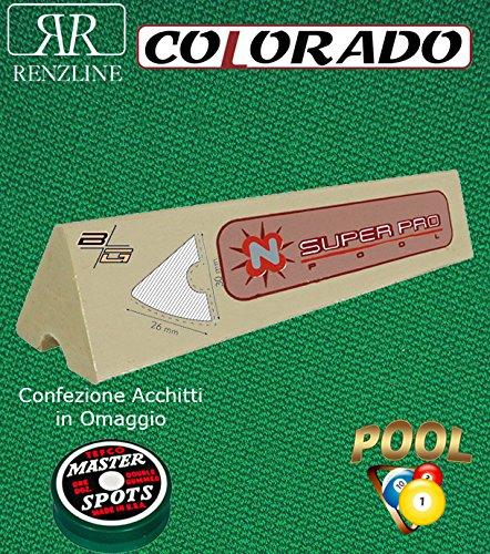 Renzi Line by Longoni Colorado gamuza Billar 57% poliéster y 43 ...