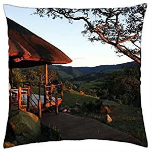 Home in Nature - Throw Pillow Cover Case (18