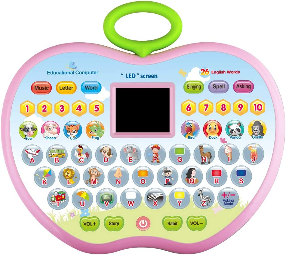 KIDTOY 2020 Multifunction Educational Tablet Toy for Baby Toddler Kids - Best Learning Gifts