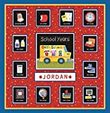 School Years Red and Blue Memory Keeper with 24 Storage Pockets - PI Kids