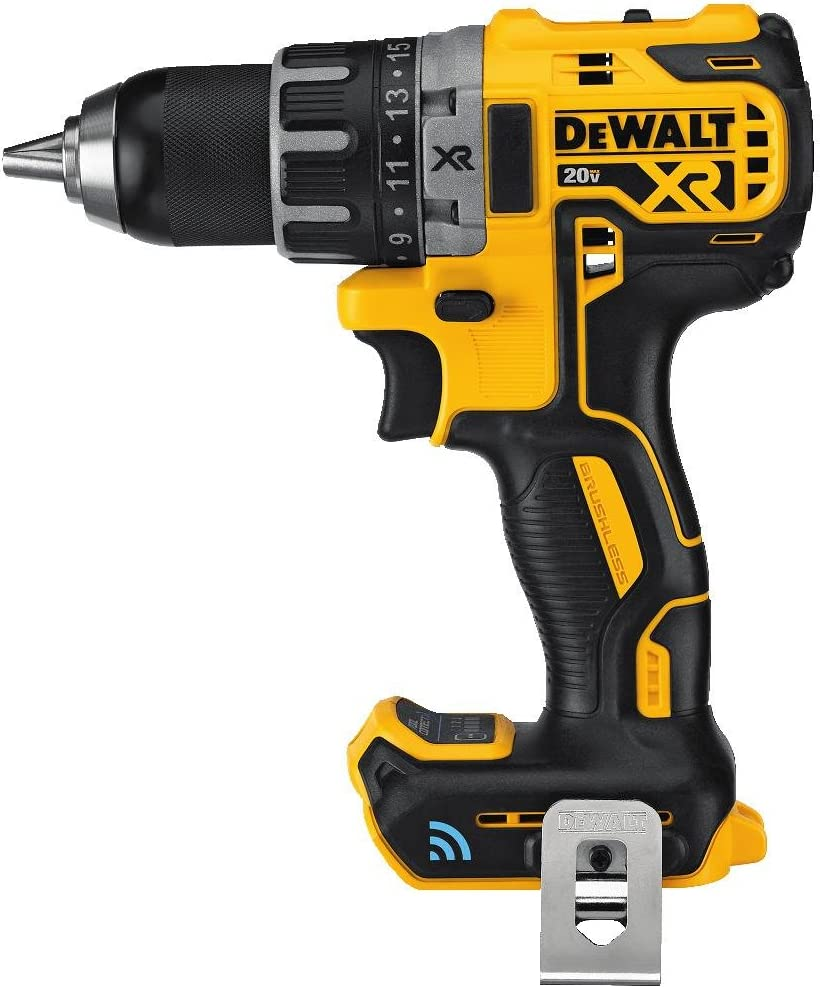 DEWALT 20V MAX XR Brushless Drill Driver with Tool Connect Bluetooth – Bare Tool DCD792B