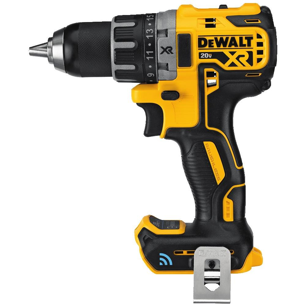 DEWALT 20V MAX XR Brushless Drill/Driver with Tool Connect Bluetooth - Bare Tool (DCD792B)