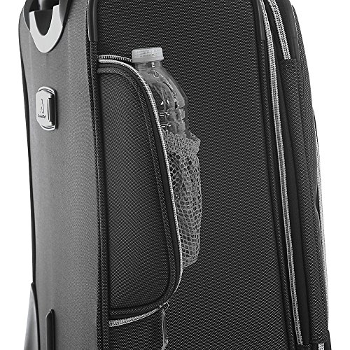 Olympia Luggage Skyhawk 22 Inch Expandable Airline Carry-On,Black,One Size by Olympia (Image #4)