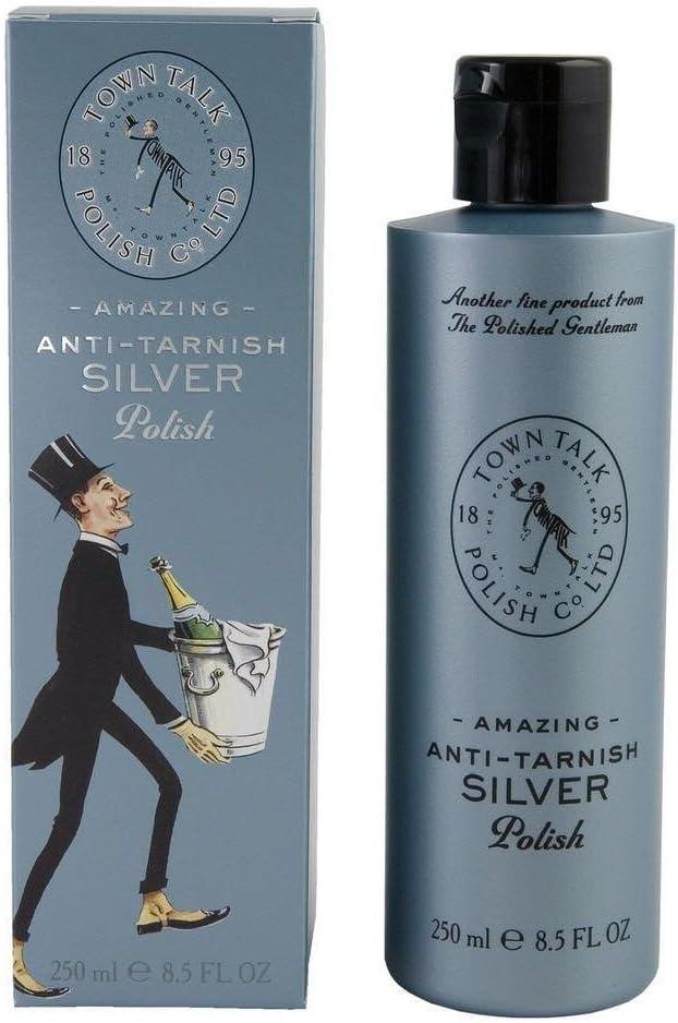 Silver Polishing Cloth Town Talk Anti-Tarnish Soft Cotton  Jewellery Care  Silver Cleaner