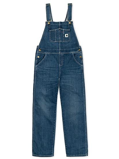 001922d7 Jeans Women Carhartt WIP Bib Overall Straight Jeans: Amazon.co.uk: Clothing