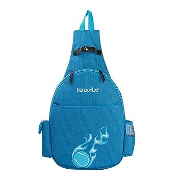 Amazon.com: Klau mochila para raquetas de tenis, Azul ...