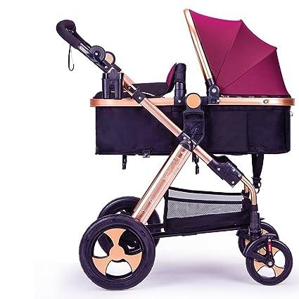 Carrito de bebé recién nacido, carro de bebé, cochecito de bebé de ...