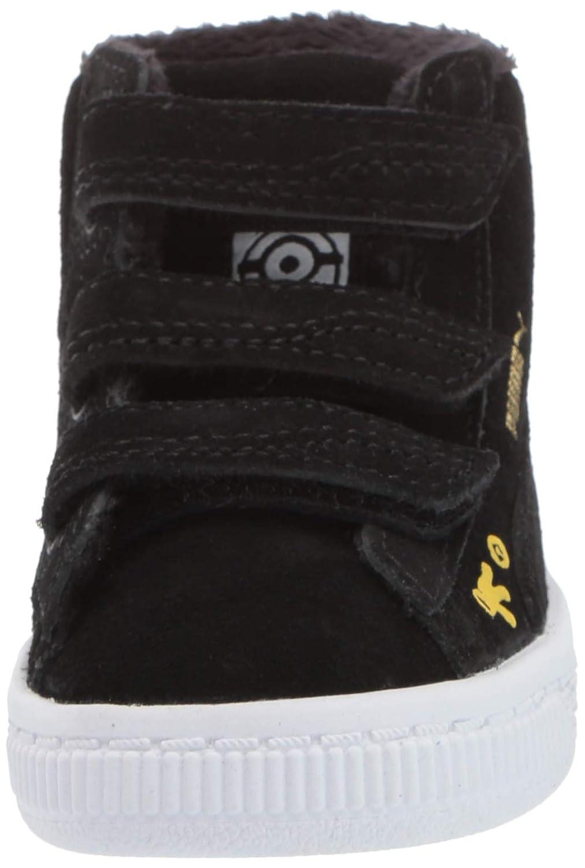 PUMA Minions Suede Mid Fur Velcro Kids Sneaker