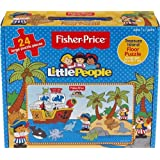 Fisher Price 24 Piece Little People Treasure Island Pirate Floor Jigsaw Puzzle by Fisher-Price