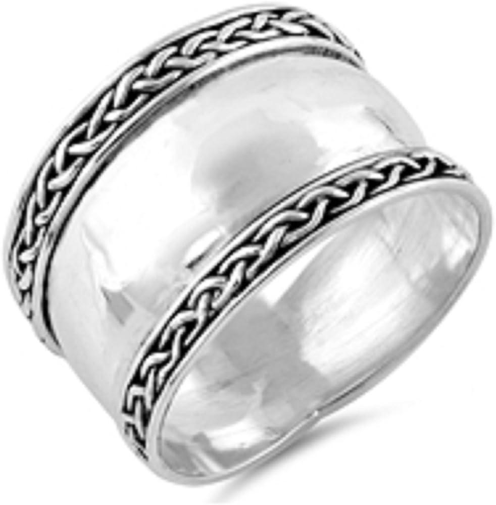 Princess Kylie 925 Sterling Silver Bali Fashion Ring