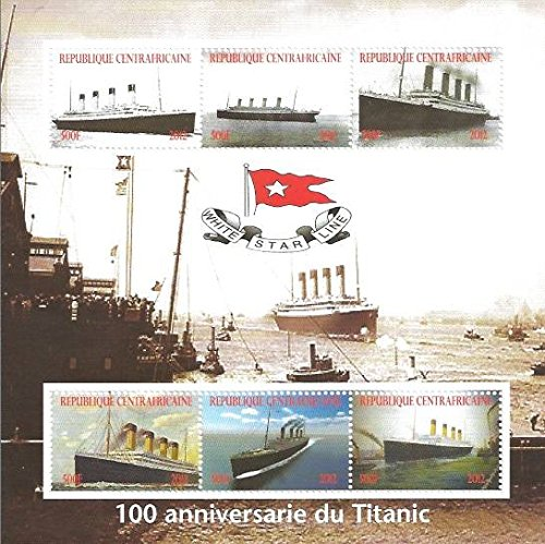 2012 Titanic Anniversary - 6 Stamp Mint Sheet - 3H-295