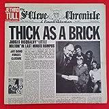 JETHRO TULL Thick As A Brick LP Vinyl VG++ Cover VG+ GF 1972 MS 2072
