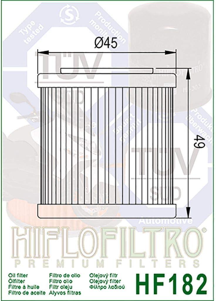 Filtro de aceite Hiflo Beverly 350 M693 12-16