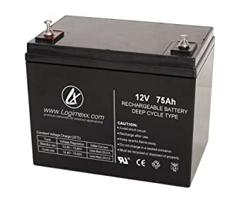 Ersatzakku Blei AGM Batterie Akku für Elektro Außenbordmotor Rhino VX 54