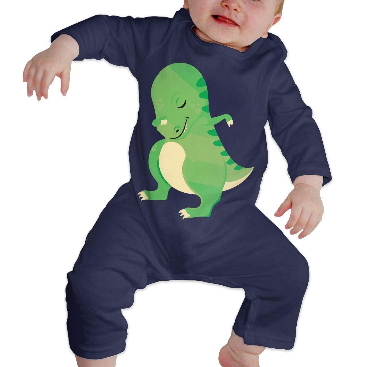 Dabbing T Rex Newborn Infant Baby Girls Soft /& Breathable Jumpsuits Playsuit Outfits