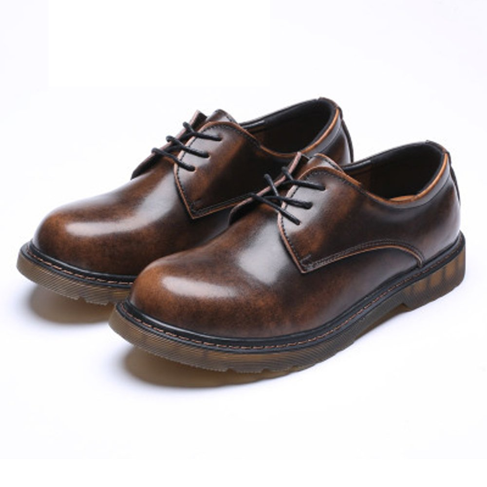 HUANGLINGLING Casual Suede schuhe Männer Loafer Schuhe aus echtem Leder Leder Leder Low Top Ankle Stiefel große Kinder Größe verfügbar Herren Turnschuhe (Farbe   Braun, Größe   6.5 UK)  52e91e
