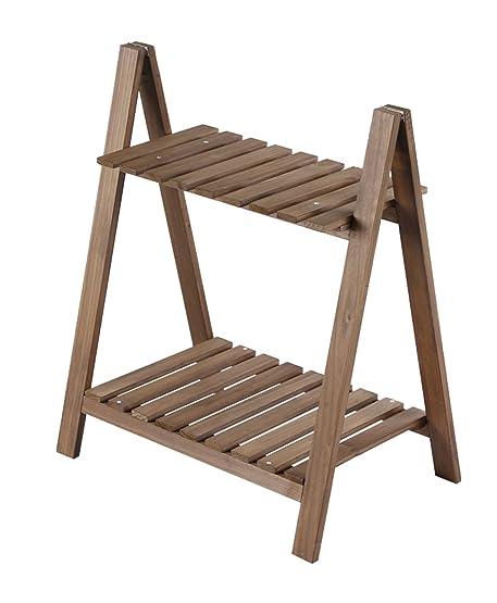 lb semplice a due in legno appariscente, vasi da fiori in legno ... - Portavasi Balcone