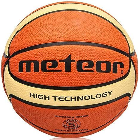 Baloncesto, pelota, tamaño 5 Meteor: Amazon.es: Deportes y aire libre