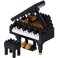 Nanoblock Musical Insturments Building Kit, Grand Piano - Negro