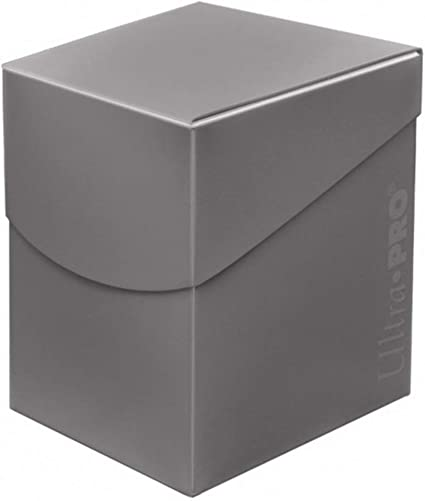 Amazon Com Ultra Pro 85693 Eclipse Pro 100 Deck Box Smoke Grey Toys Games