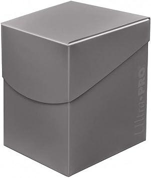 Ultra Pro 85693 Eclipse Pro 100+ Caja de Cubierta, Gris Humo, color smoke grey: Amazon.es: Juguetes y juegos
