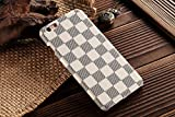 HeiL® iPhone6s Plus TPU *Fast US Deliver Guarantee Fulfilled by Amazon* New Elegant Luxury High Quality PU Leather Checker Pattern Classic Style Cover Case For Apple iPhone6/6s PLUS 5.5