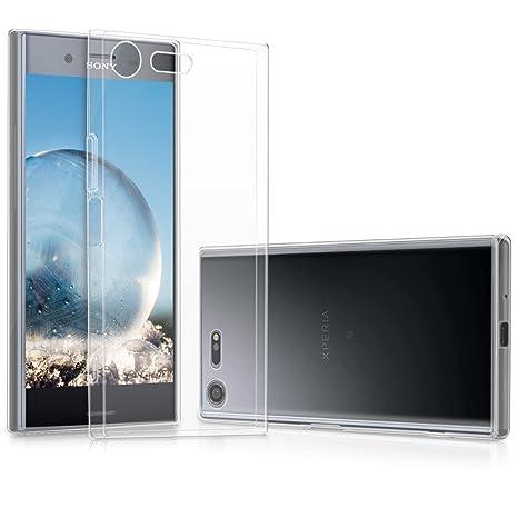 kwmobile Funda para Sony Xperia XZ Premium - Carcasa Protectora de [TPU] para móvil - Cover [Trasero] en [Transparente]