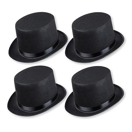 stile classico nessuna tassa di vendita miglior prezzo S/O cappello a cilindro nero per adulti, cilindro (0603)