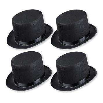 Schramm Onlinehandel 0603 - Sombrero de copa para disfraz (para adultos 1d62ebc2931