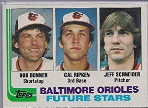 1982 Topps Baseball Complete 792 Card Set Cal Ripken Jr. Rookie