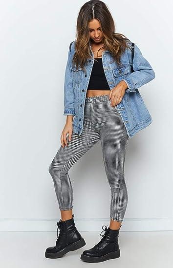 Amazon.com: Jean Jacket - Chaqueta de jean para mujer, talla ...