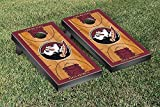 Florida State Seminoles FSU Cornhole Game Set Basketball Court Version