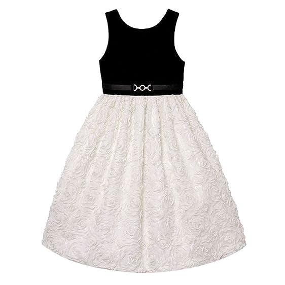 Amazon American Princess Girls Plus Size Velvet Soutache Skirt