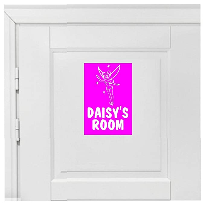 Cartel de hada para puerta de dormitorio con nombre u otro ...