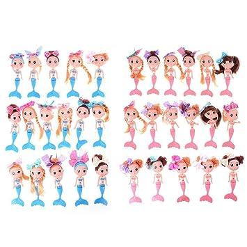 Children/'s Little Bobby Mermaid Doll Doll/'s Birthday Salon Children/'s Toys TO