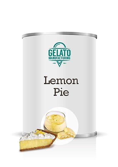 Lemon Pie - Crema de limón enriquezida con trozos de galleta para vetear helado (lata