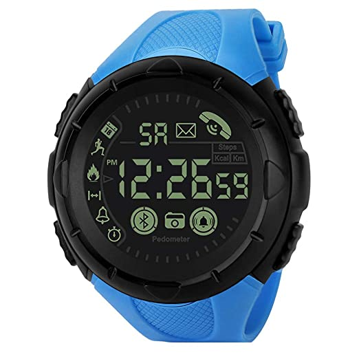 Amazon.com: Redvive Top Fashion Mens Smart Watch Bluetooth ...