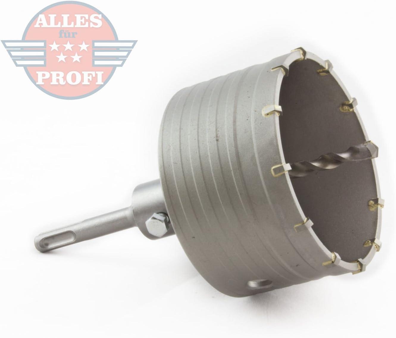 SDS-Plus HM Bohrkrone Dosenbohrer Mauerwerk Kernbohrer Lochsäge Ø 100 mm x 350mm