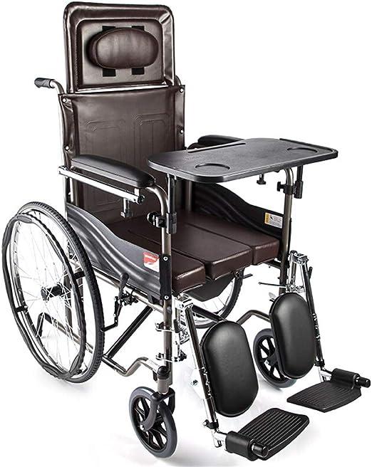 Silla de ruedas de acero-Silla de ruedas Silla de ruedas plegable ...