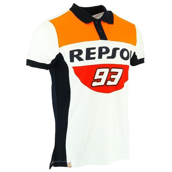 Honda Repsol Marc Marquez 93 Moto GP Panel Polo Camisa Oficial ...