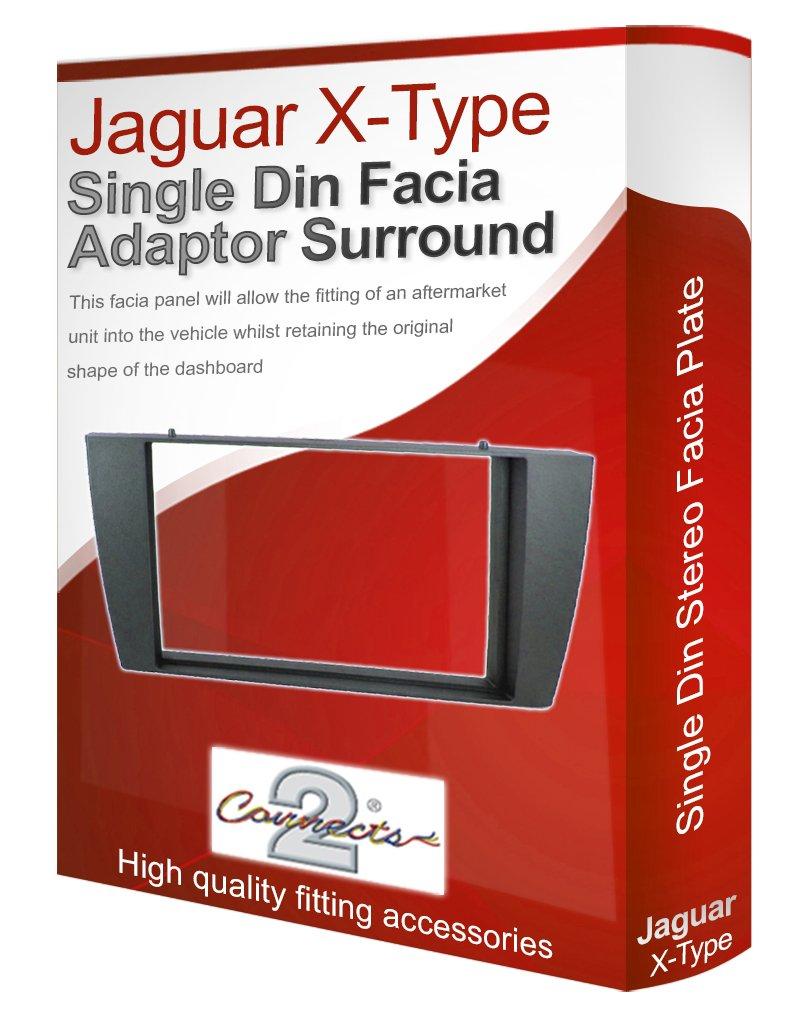 Connects2, mascherina per autoradio, pannello adattatore cover finitura liscia per stereo CD