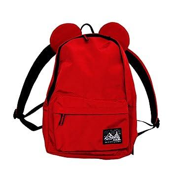 3e6bdbb63d6d ミッキー マウス 型 大人 用 リュック (赤) バッグ バック 鞄 かばん ( 東京 ディズニー