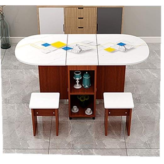 Mesa extensible de comedor Mesa plegable mesa de comedor ...