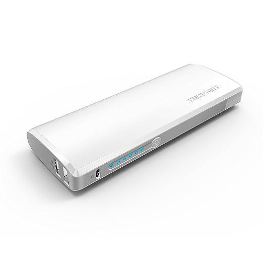 150 opinioni per Batteria Esterna, TeckNet PowerWave W2 Caricabatterie Portabile 13000mAh Power