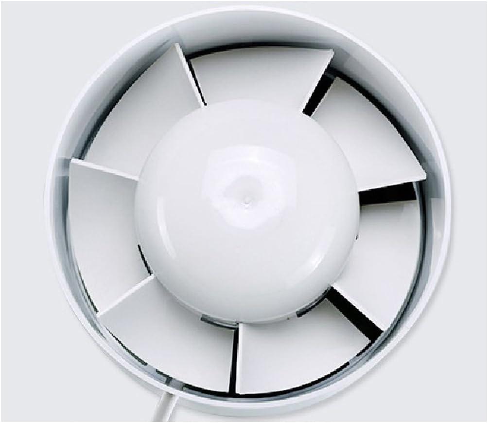 Ventilaci/ón De Entrada-Salida 220V 6 B Blesiya 2X Ventilador De Escape De Refuerzo De Conducto En L/ínea