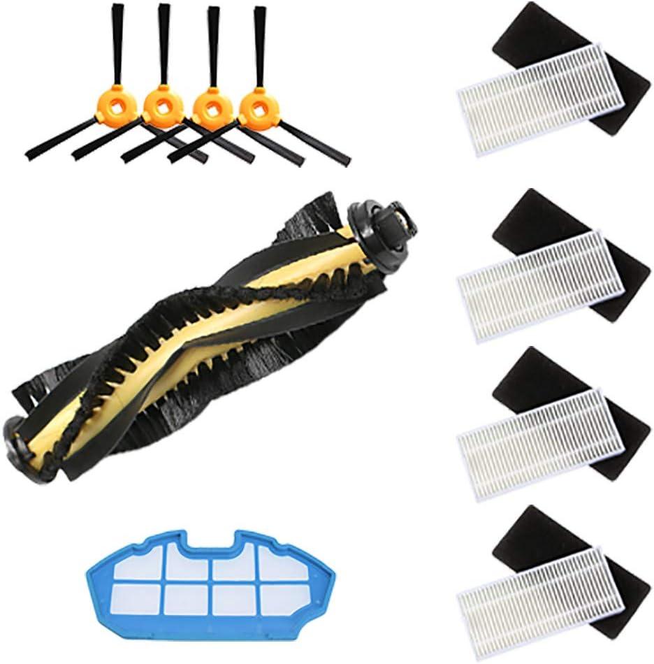 Filter+Brush Semoic Replacement Accessory Kit Filter Main Brush Side Brush for DEEBOT N79S N79 Robotic Vacuum Cleaner
