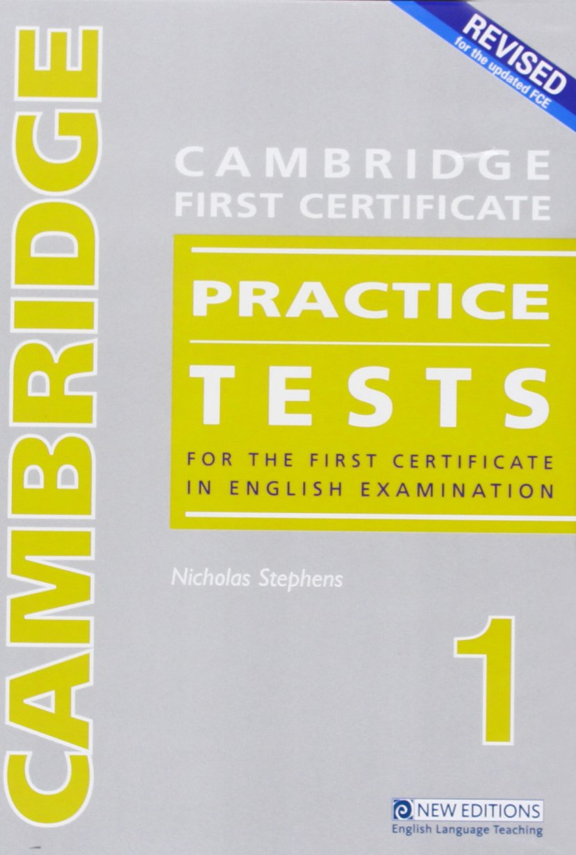 Revised Cambridge First Certificate Practice Tests - Book 1 Audio CD by New Editions