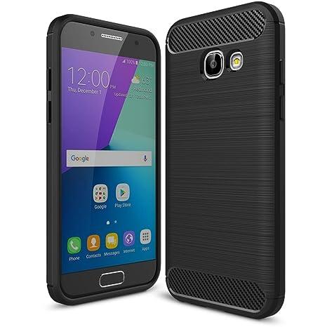 NALIA Funda Carbono Compatible con Samsung Galaxy A5 2017 ...