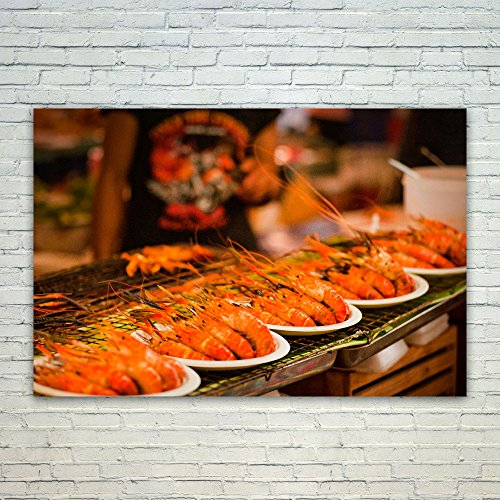 Epicure Grill (Westlake Art Cuisine Food - 12x18 Poster Print Wall Art - Modern Picture Photography Home Decor Office Birthday Gift - Unframed 12x18 Inch (422B-D2B00))